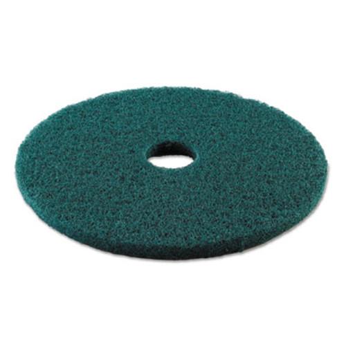 Boardwalk Heavy-Duty Scrubbing Floor Pads  19  Diameter  Green  5 Carton (PAD 4019 GRE)
