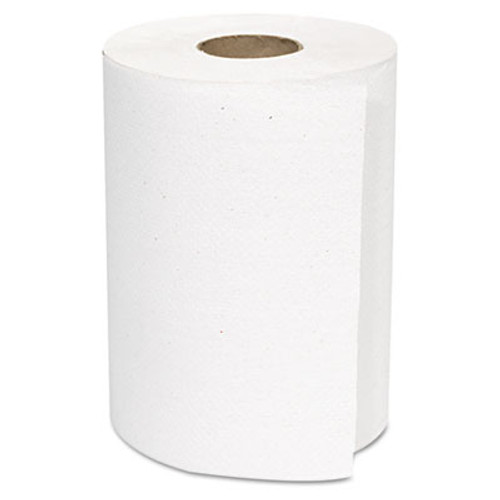 GEN Hardwound Roll Towels  White  8  x 350 ft  12 Rolls Carton (GEN 1800)