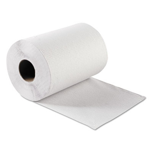 GEN Hardwound Roll Towels  White  8  x 300 ft  12 Rolls Carton (GEN 1803)