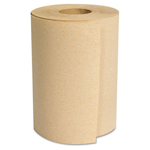 GEN Hardwound Roll Towels  Natural  8  x 350ft  12 Rolls Carton (GEN 1805)