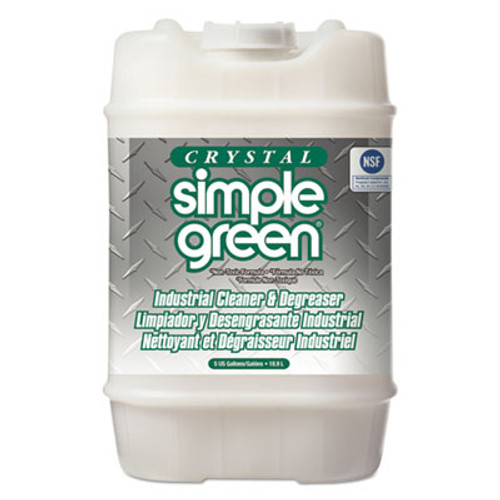 Simple Green Crystal Industrial Cleaner Degreaser  5gal  Pail (SMP 19005)