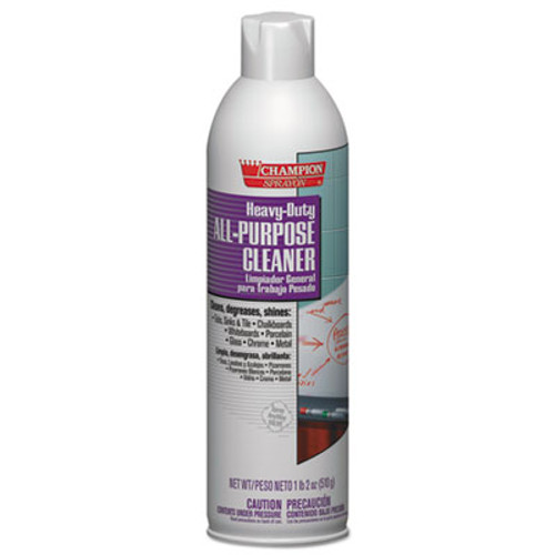 Chase Products Heavy-Duty All-Purpose Cleaner Degreaser  18oz  Aerosol  12 Carton (CHA 5161)