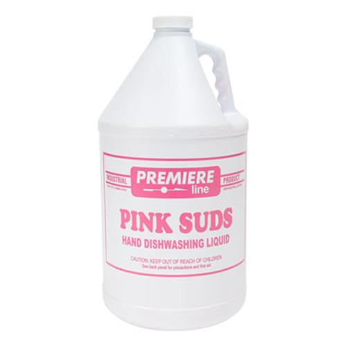 Kess Premier Pink-Suds Pot & Pan Cleaner, 1gal, Bottle, 4/Carton (KES PINKSUDS)