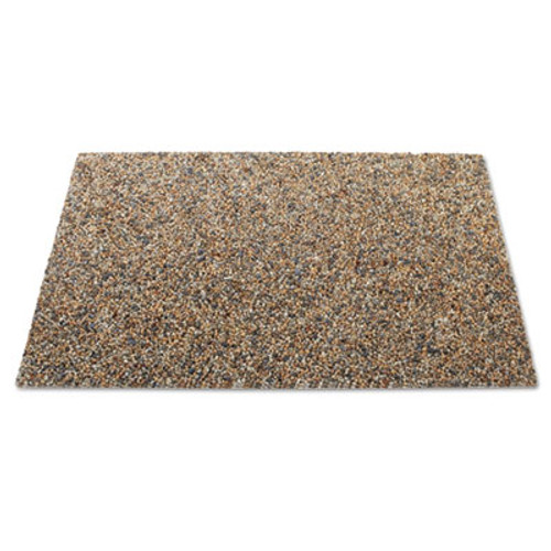Rubbermaid Commercial Landmark Series Panel, 34 3/10 x 20 7/10 x 3/8, Stone, River Rock, 4/Pack (RCP 4004 RIV)