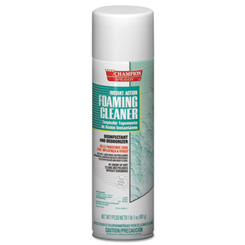 Chase Products Instant Action Foaming Cleaner Disinfectant  17oz  Aerosol  12 Carton (CHA 5196)