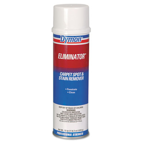 Dymon Eliminator Carpet Spot & Stain Remover, 20oz, Aerosol, 12/Carton (DYM 10620)