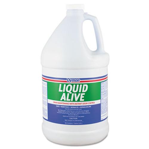 Dymon LIQUID ALIVE Enzyme Producing Bacteria  1gal  Bottle  4 Carton (DYM 23301)