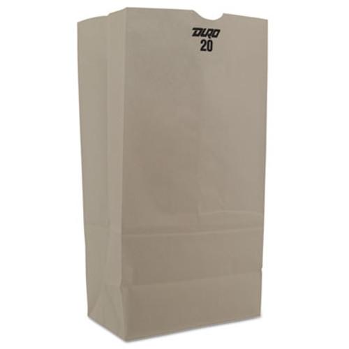 General Grocery Paper Bags  40 lbs Capacity   20  8 25 w x 5 94 d x 16 13 h  White  500 Bags (BAG GW20-500)