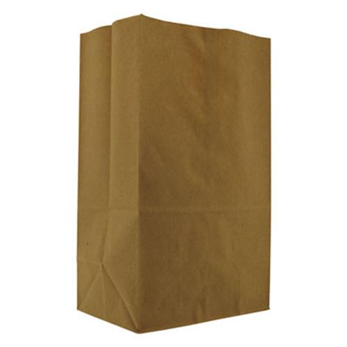 General Grocery Paper Bags  57 lbs Capacity  1 8 BBL  10 13 w x 6 75 d x 14 38 h  Kraft  500 Bags (BAG SK1857)