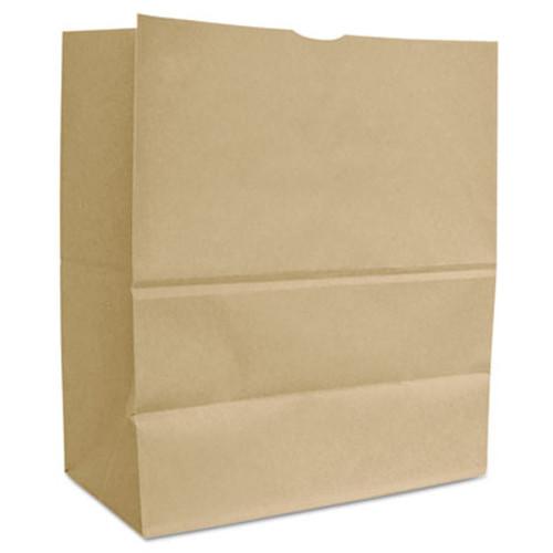 General Grocery Paper Bags  66 lbs Capacity  1 6 BBL  12 w x 7 d x 17 h  Kraft  500 Bags (BAG SK1665)