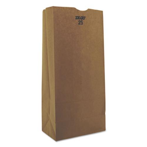 General Grocery Paper Bags  40 lbs Capacity   25  8 25 w x 5 25 d x 18 h  Kraft  500 Bags (BAG GK25-500)