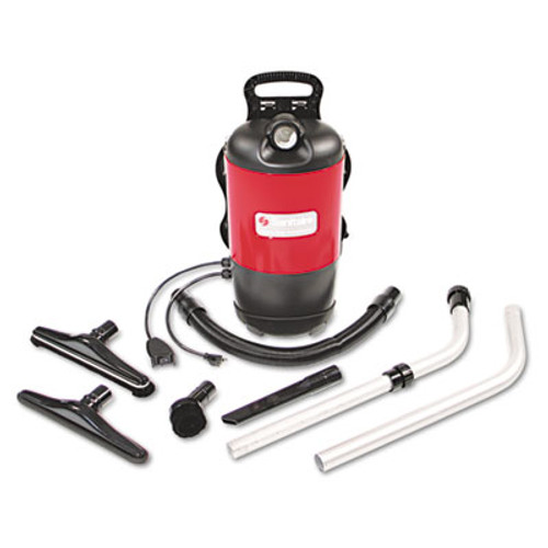Sanitaire TRANSPORT QuietClean Backpack Vacuum  11 5 lb  Red (EUR 412)