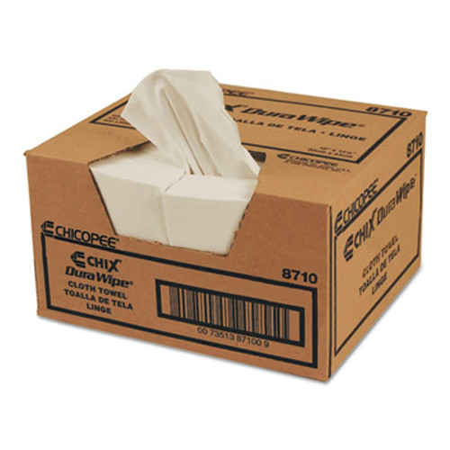 Chicopee VeraClean Critical Cleaning Wipes  Smooth Texture  1 4 Fold  12 x 13  White  400 Carton (CHI 8710)