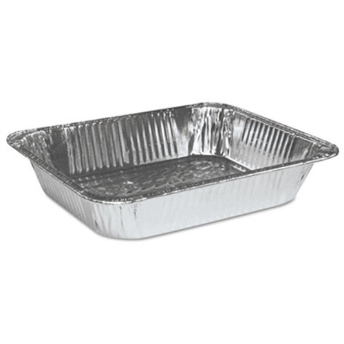 Boardwalk Half Size Aluminum Steam Table Pan  Deep  100 Carton (BWK STEAMHFDP)