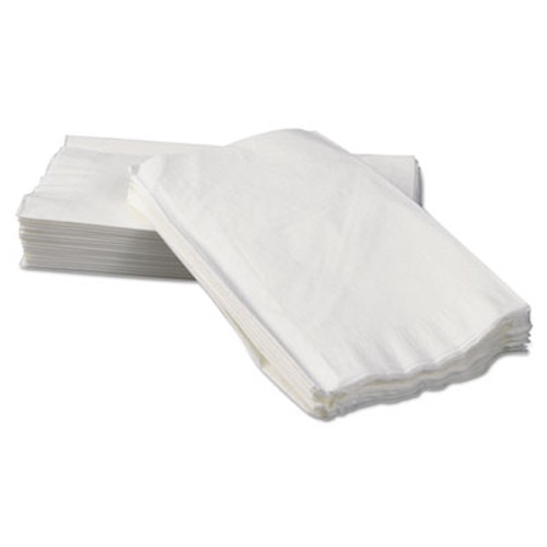 Boardwalk Tall-Fold Dispenser Napkins, 2-Ply, 7 x 13 1/4, White, 500/Pack, 20 Packs/Carton (BWK 8320)