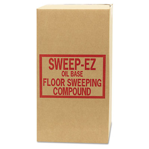 Sorb-All Oil-Based Sweeping Compound  Grit-Free  50lbs  Box (SOR 50RED)