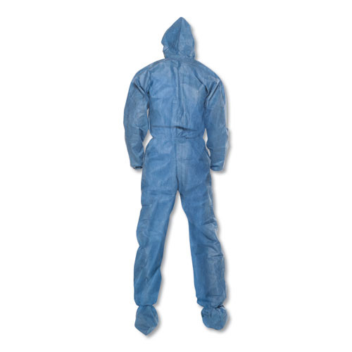 KleenGuard A60 Blood and Chemical Splash Protection Coveralls  3X-Large  Blue  20 Carton (KCC 45096)