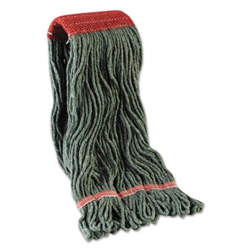 Boardwalk Mop Head  Premium Standard Head  Cotton Rayon Fiber  Large  Blue  12 Carton (UNS 403BL)