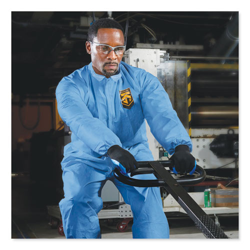 KleenGuard A20 Coveralls  MICROFORCE Barrier SMS Fabric  Blue  2X-Large  24 Carton (KCC 58505)