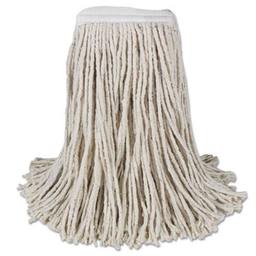 Boardwalk Mop Head  Cotton  Cut-End  White  4-Ply   16 Band  12 Carton (BWK CM02016S)
