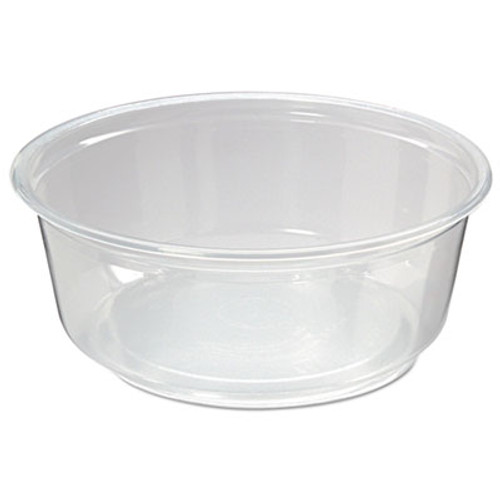 Fabri-Kal Microwavable Deli Containers  8oz  Clear  500 Carton (FAB PK8S-C)