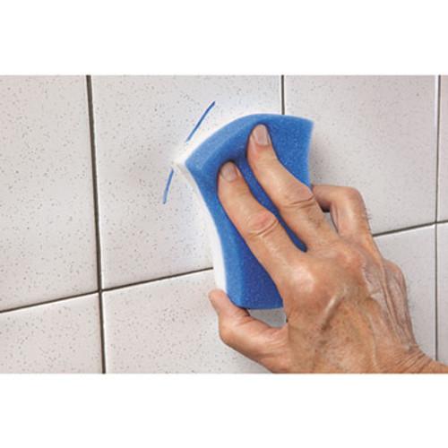 Scotch-Brite PROFESSIONAL Easy Erasing Pad 4004  2 4 5 x 4 1 2 x 1 1 5  Blue White  4 per Pack (MMM55658)