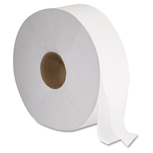 GEN JRT Jumbo Bath Tissue  Septic Safe  2-Ply  White  12  Diameter  1 378 ft Length  6 Carton (GEN 1513)