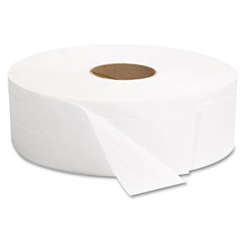 GEN JRT Jumbo Bath Tissue  Septic Safe  2-Ply  White  12  Diameter  1 378 ft Length  6 Carton (GEN 1513)