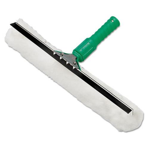 Unger Visa Versa Squeegee   Strip Washer 10 Inches  Nylon Rubber Cloth  White Green (UNG VP25)
