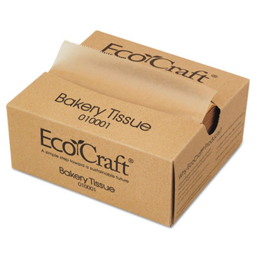 Bagcraft EcoCraft Interfolded Dry Wax Deli Sheets  6 x 10 3 4  Natural 1000 Box  10 Bx Ct (BGC 010001)