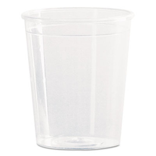WNA Comet Plastic Portion/Shot Glass, 2 oz., Clear, 50/Pack (WNA P20)