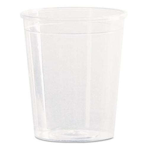 WNA Comet Plastic Portion Shot Glass  2 oz   Clear  50 Pack (WNA P20)