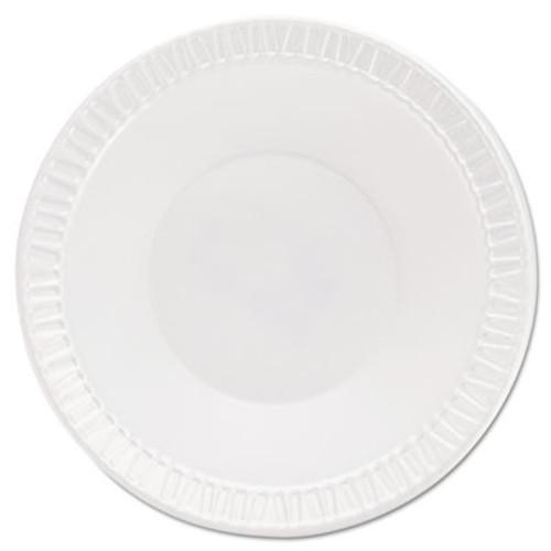 Dart Quiet Classic Laminated Foam Dinnerware  Bowls  5-6 Oz  White  Round  125 Pack (DCC 5BWWQ)