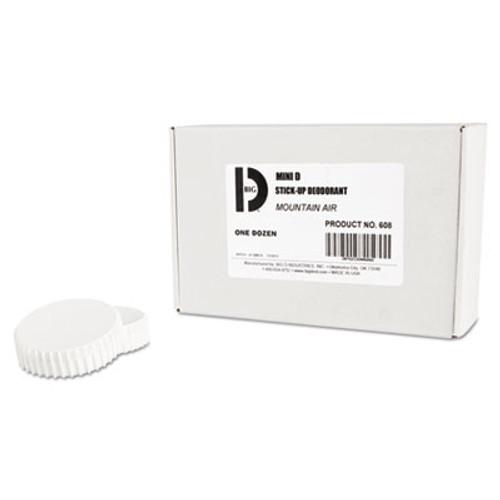 Big D Industries Mini D Stick-Up Deodorant  Mountain Air  2 5 oz  Dispenser  12 Carton (BGD 608)