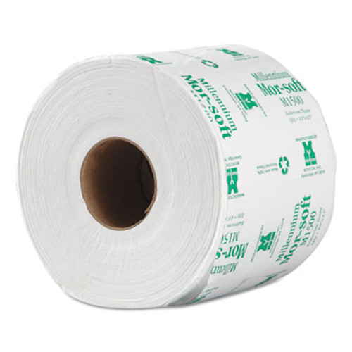 Morcon Paper Morsoft Millennium Bath Tissue, 1-Ply, 1500 Sheets/Roll, 48/Carton (MOR M1500)