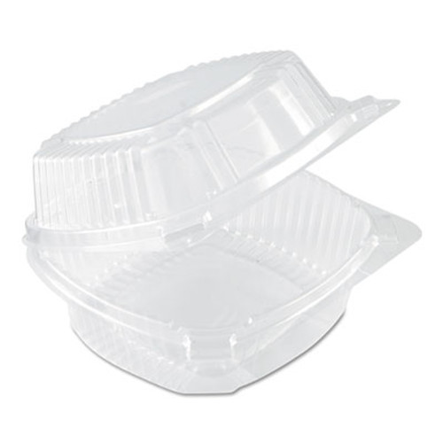Pactiv SmartLock Food Containers  Clear  20oz  5 3 4w x 6d x 3h  500 Carton (PAC YCI81160)