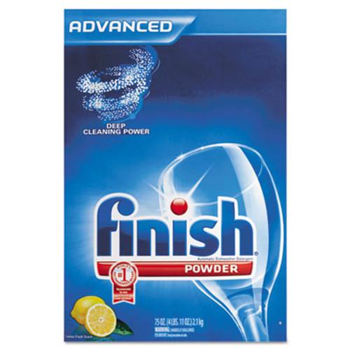 FINISH Automatic Dishwasher Detergent  Lemon Scent  Powder  2 3 qt  Box  6 Boxes Ct (REC 78234)