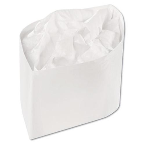 AmerCareRoyal Classy Cap  Crepe Paper  White  Adjustable  One Size  100 Caps Pk  10 Pks Carton (RPP RCC2W)