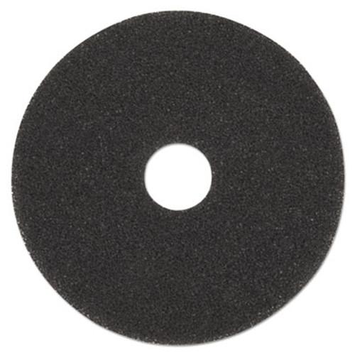 Boardwalk High Performance Stripping Floor Pads  19  Diameter  Grayish Black  5 Carton (PAD 4019 HIP)