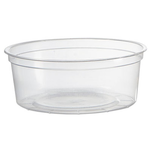 WNA Deli Containers  Clear  8oz  50 Pack  10 Pack Carton (WNA APCTR08)