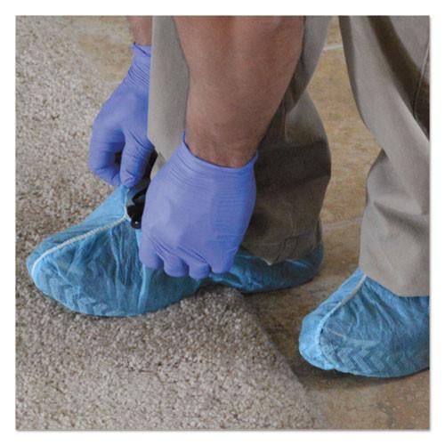 KleenGuard A10 LightDuty Shoe Covers  Polypropylene  One Size Fits All  Blue  300 Carton (KCC 36811)