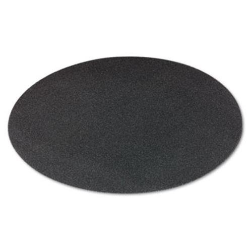 Boardwalk Sanding Screens  20  Diameter  80 Grit  Black  10 Carton (PAD 5020-80-10)