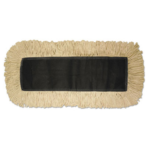 Boardwalk Disposable Dust Mop Head  Cotton  18w x 5d (UNS 1618)
