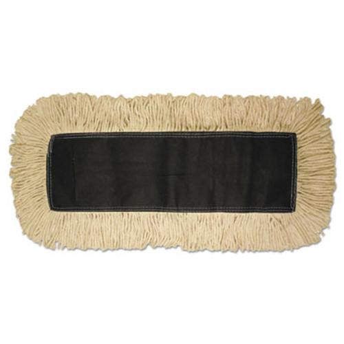 Boardwalk Disposable Dust Mop Head  Cotton  18w x 5d (UNS 1618)