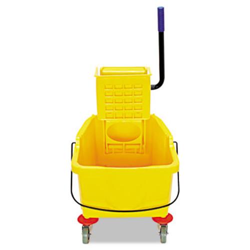 Flo-Pac Side-Press Bucket Wringer Combo  8 75 gal  Yellow (CFS3690404)