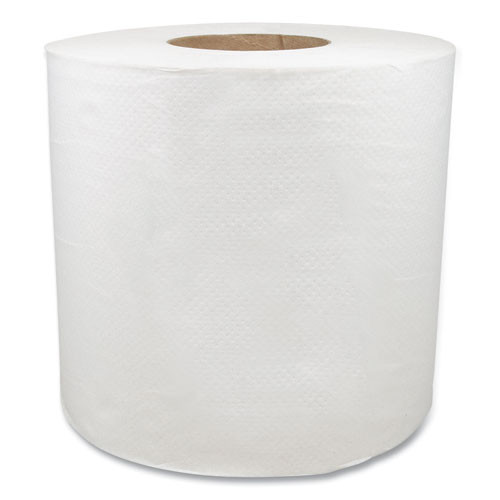 Morcon Tissue Morsoft Center-Pull Roll Towels  7 5  dia   White  600 Sheets Roll  6 Rolls Carton (MOR C6600)