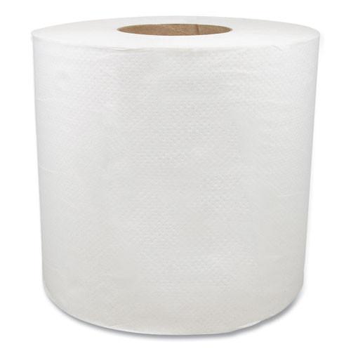 Morcon Tissue Morsoft Center-Pull Roll Towels  7 5  dia   White  600 Sheets Roll  6 Rolls Carton (MOR C6600)