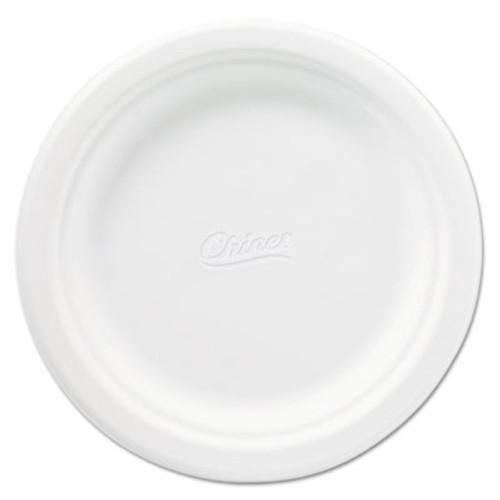 Chinet Classic Paper Plates  6 3 4 Inches  White  Round  125 Pack (HUH VENEER)