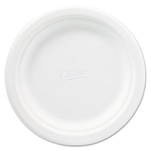 Chinet Classic Paper Plates  6 3 4 Inches  White  Round  125 Pack (HUH VENEER)