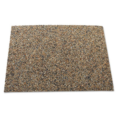 Rubbermaid Commercial Landmark Series Aggregate Panel  15 7 x 27 9 x 0 38  Stone  River Rock (RCP 4003 RIV)